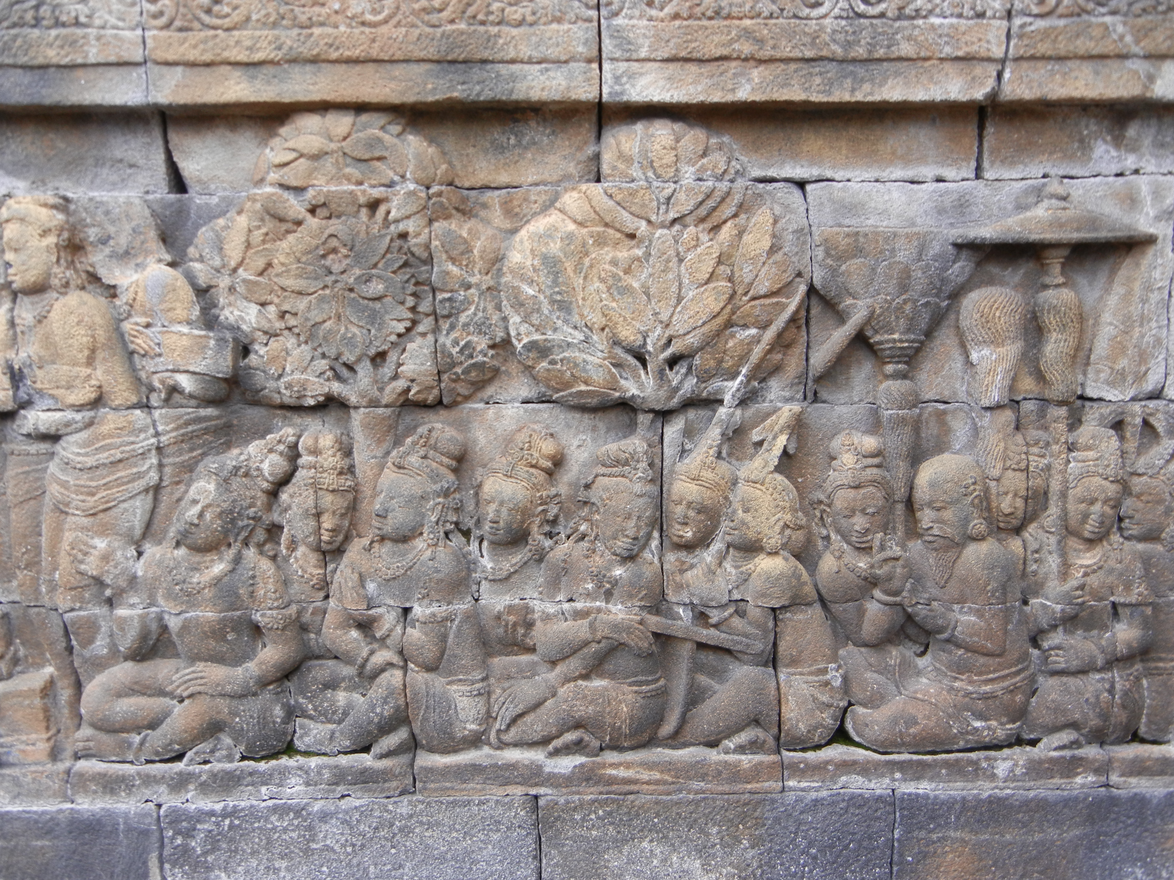 Indonesia impressions of borobudur the backpacker s